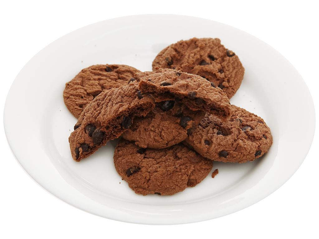 Bánh quy Socola Arnott's Goodtime Double Choc Chocochips Cookies gói 72g 5