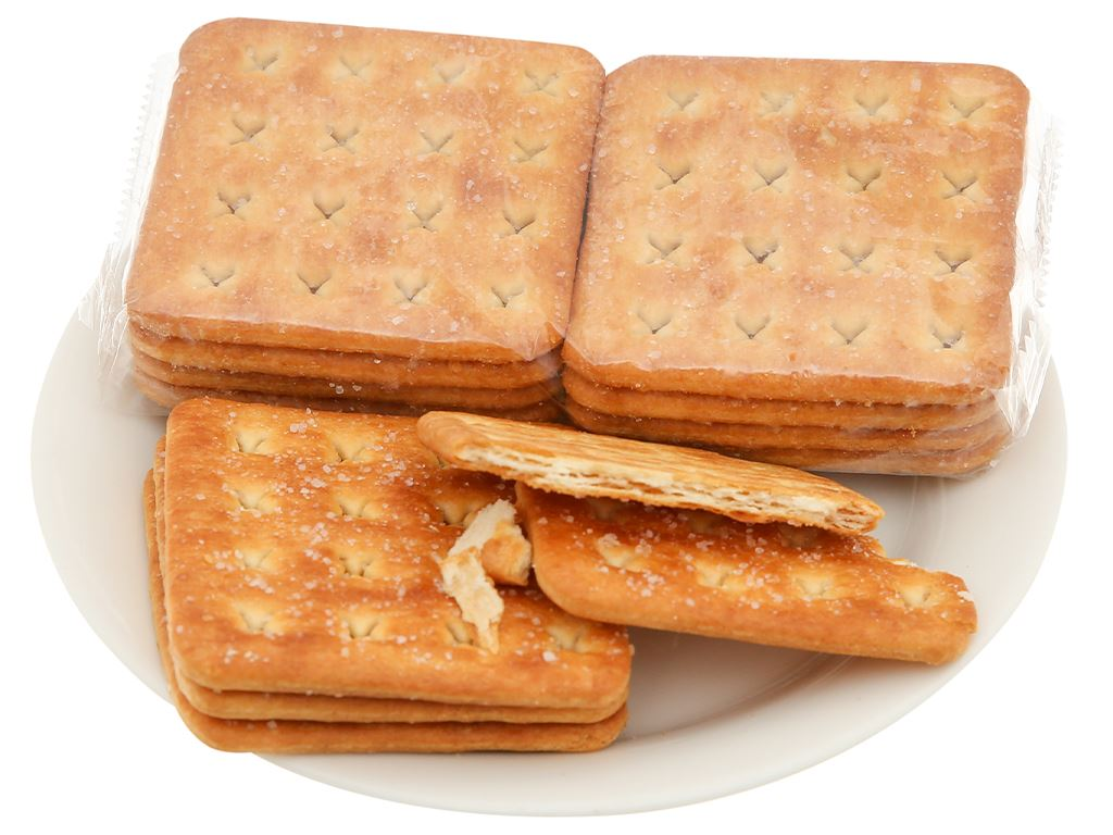 Bánh quy Grona Caramel Cracker gói 384g 5