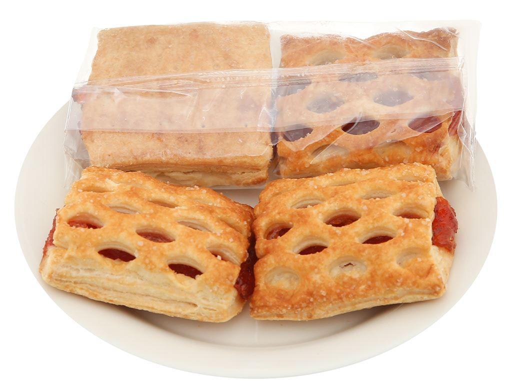 Bánh quy Grona Azhur vị anh đào gói 384g 4