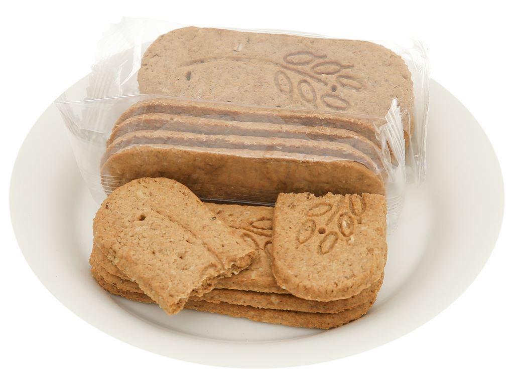 Bánh quy bơ hỗn hợp ngũ cốc với đường ăn kiêng chiết xuất Stevia DIAL-K Magic Grain gói 150g 5