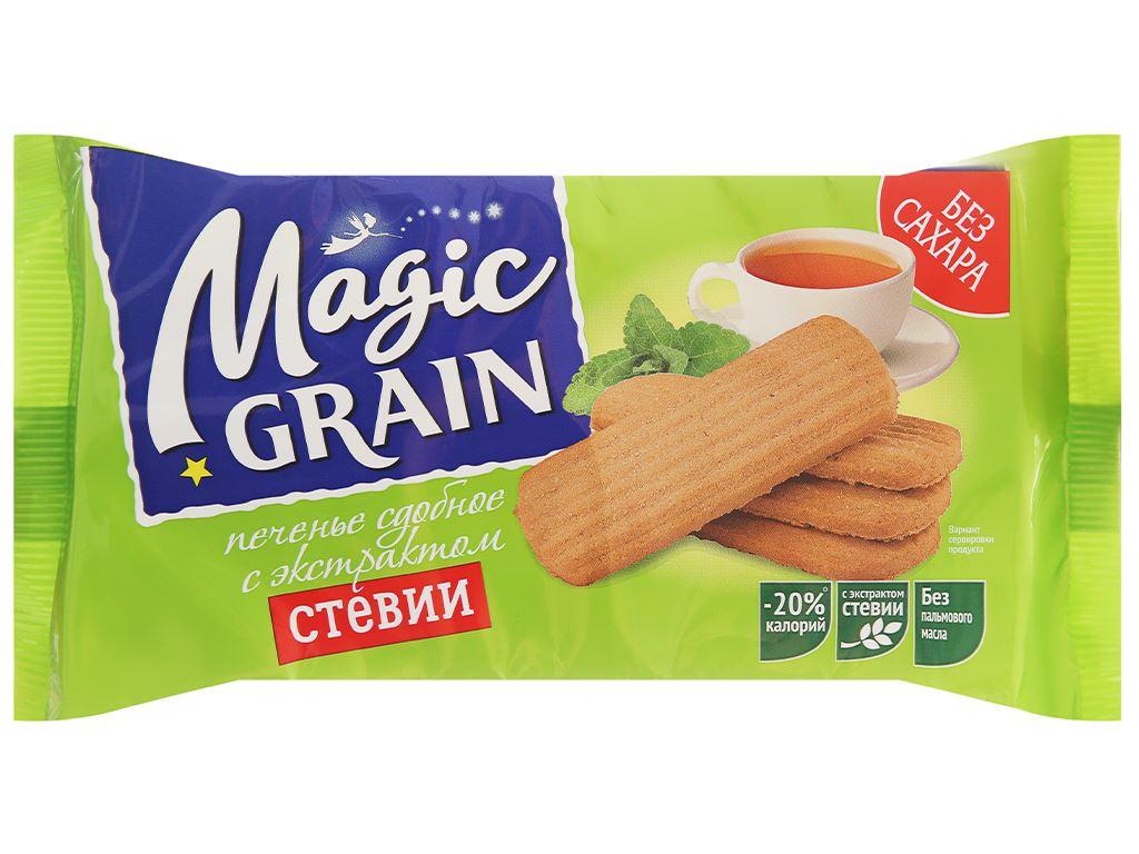 Bánh quy bơ với đường ăn kiêng chiết xuất Stevia DIAL-K Magic Grain gói 150g 1