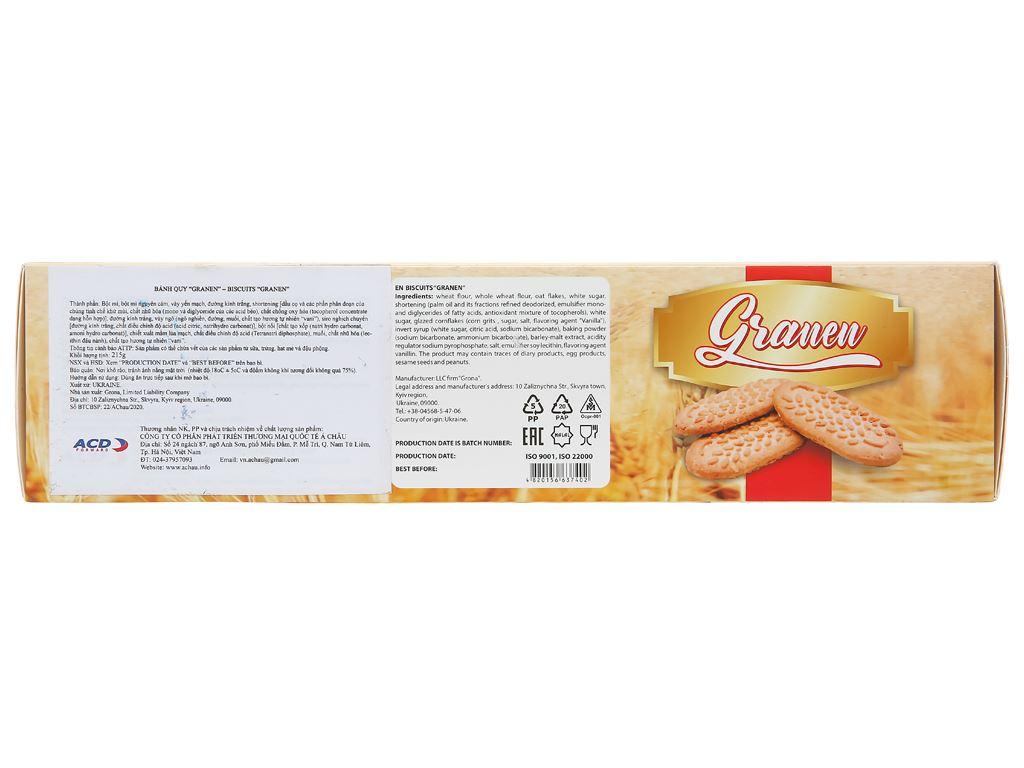 Bánh quy ngũ cốc Grona Granen hộp 215g 4
