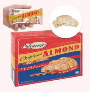 Bánh quy hạnh nhân Skinnie Original Almond hộp 135g