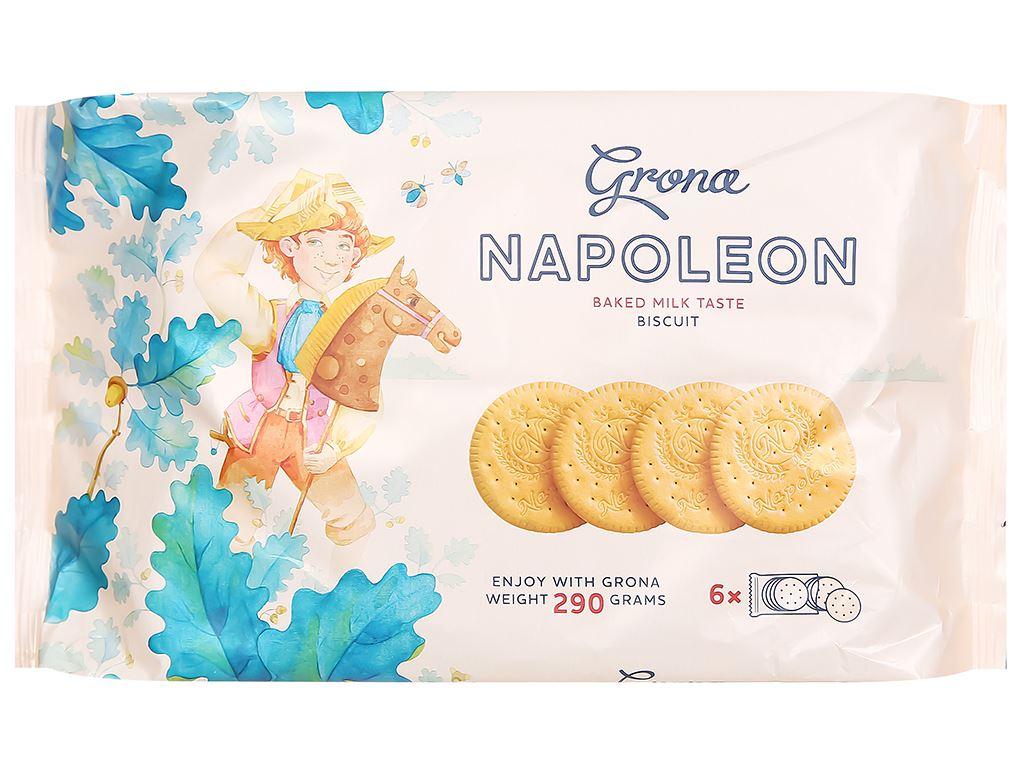 Bánh quy Grona Napoleon gói 290g 1