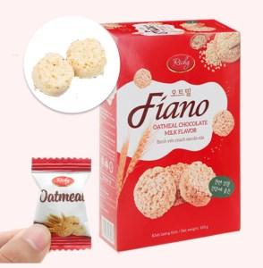 Bánh yến mạch sữa Fiano hộp 100g