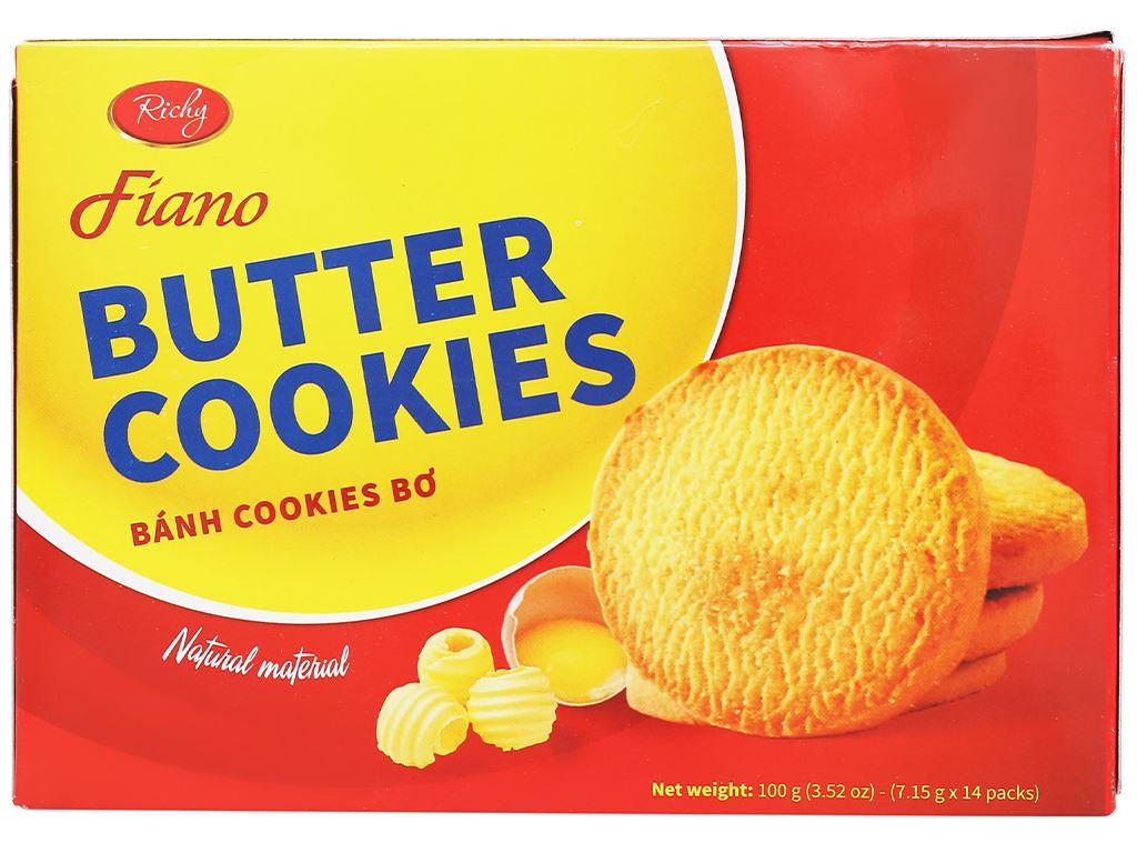 Bánh quy bơ Fiano hộp 100g 1