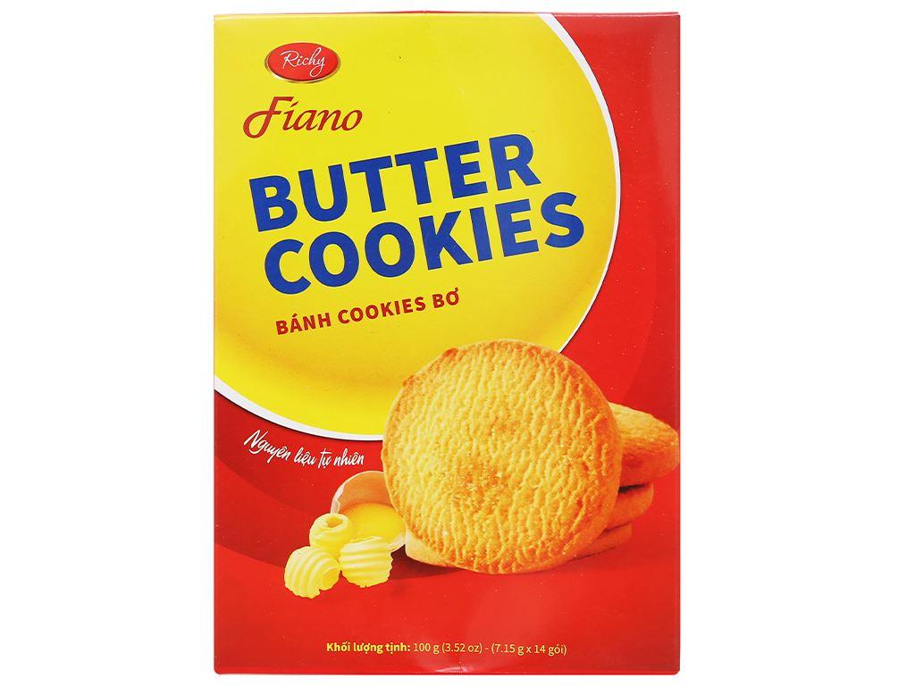 Bánh quy bơ Fiano hộp 100g 2