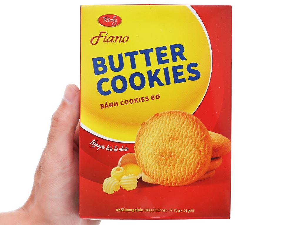 Bánh quy bơ Fiano hộp 100g 4