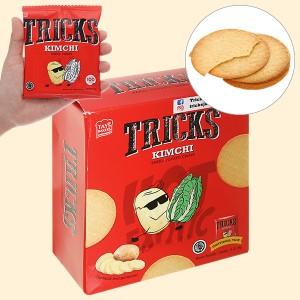 Bánh khoai tây chiên vị kim chi Tricks hộp 72g