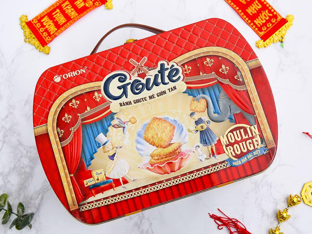 Bánh quy mè giòn tan Gouté (phiên bản đặc biệt) hộp thiếc 432g 2