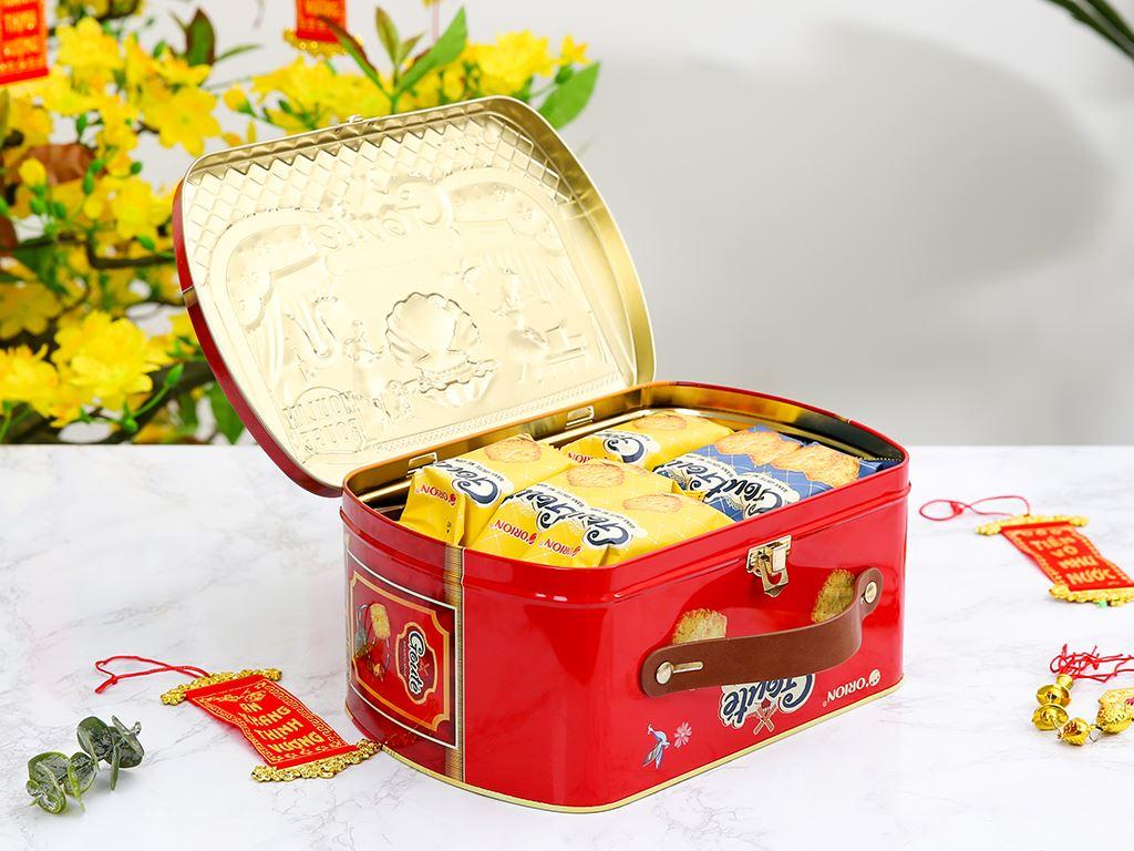 Bánh quy mè giòn tan Gouté (phiên bản đặc biệt) hộp thiếc 432g 3