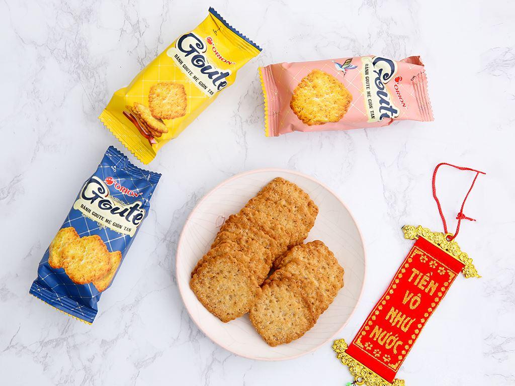 Bánh quy mè giòn tan Gouté (phiên bản đặc biệt) hộp thiếc 432g 5