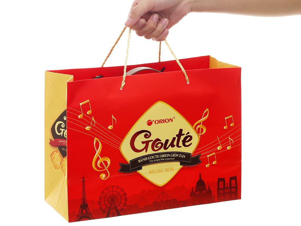 Bánh quy mè giòn tan Gouté (phiên bản đặc biệt) hộp thiếc 432g 9