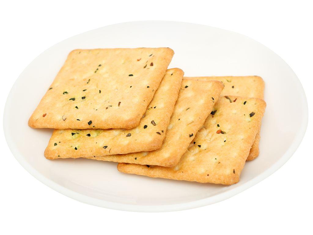 Bánh cracker vị rau củ Super Viviga gói 100g 5