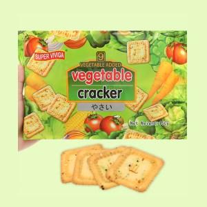 Bánh cracker vị rau củ Super Viviga gói 150g