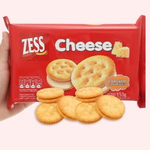 Bánh quy phô mai Zess gói 153g