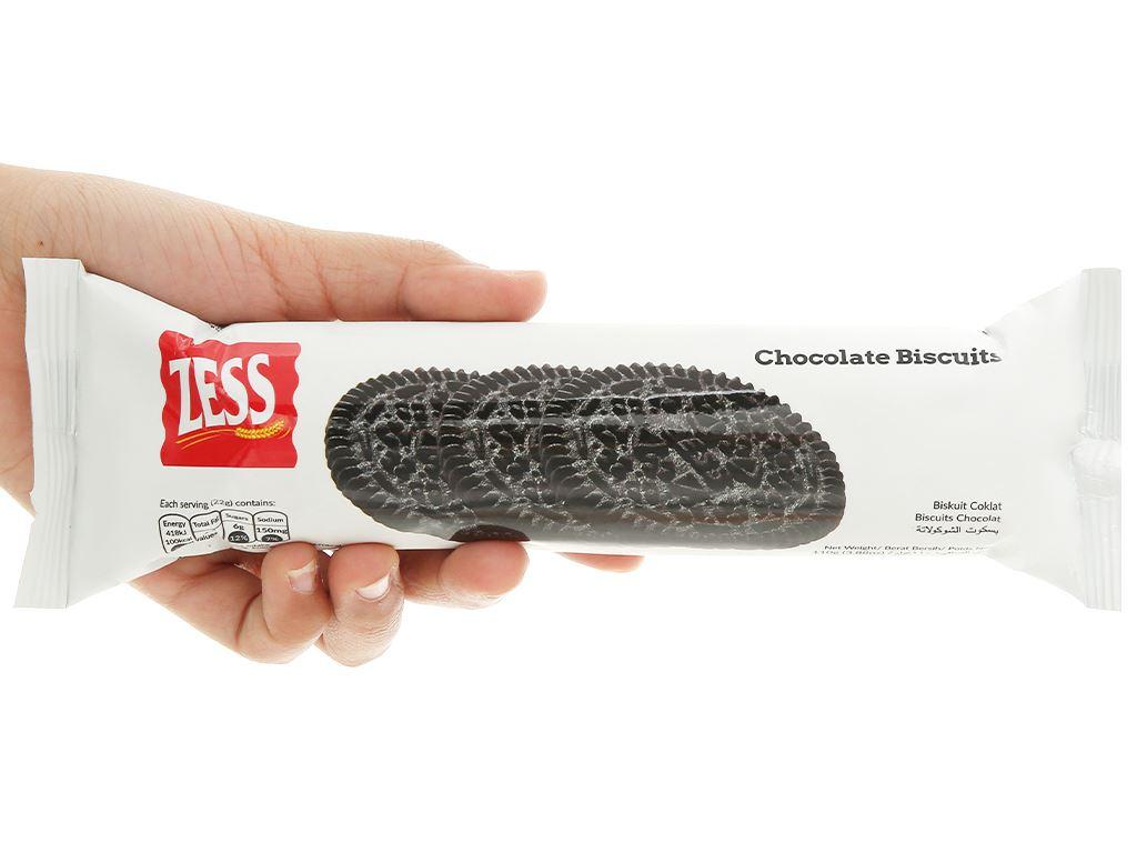 Bánh quy socola Zess gói 110g 4