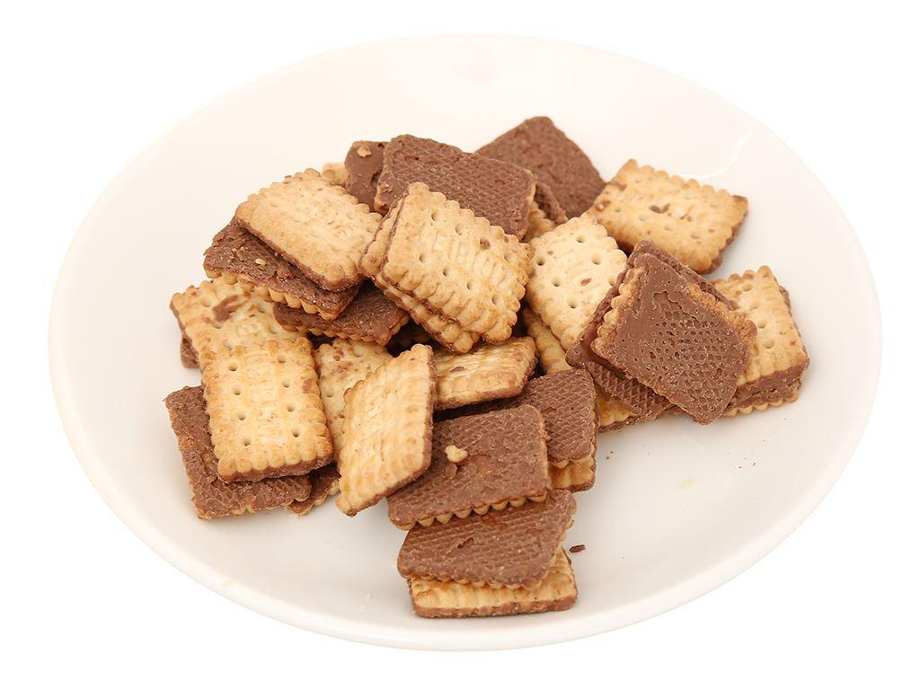Bánh quy socola Minis Leibniz gói 100g 5