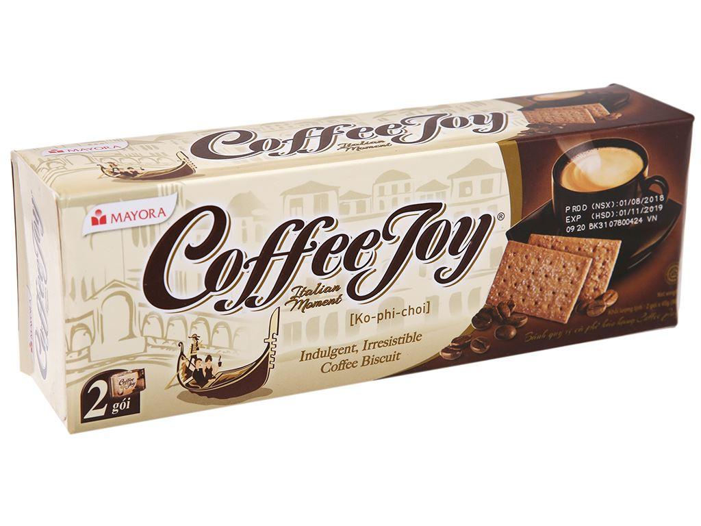 Bánh quy vị cà phê Coffee Joy hộp 90g 2