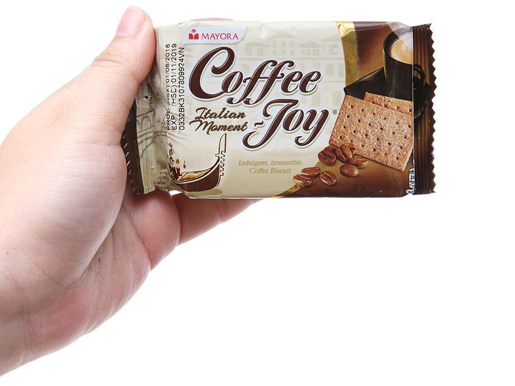 Bánh quy vị cà phê Coffee Joy hộp 90g 5