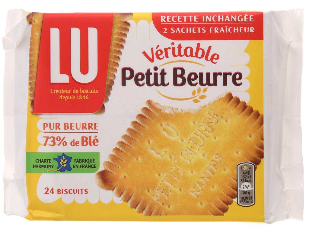 Bánh quy LU Véritable Petit Beurre gói 200g 2