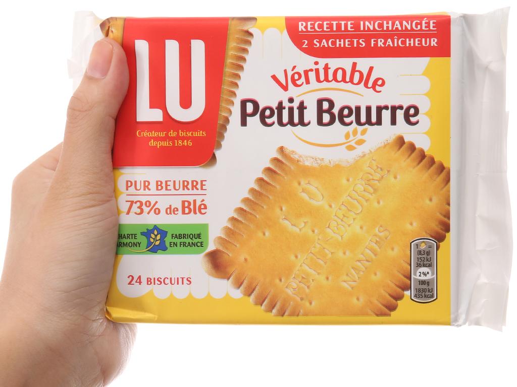 Bánh quy LU Véritable Petit Beurre gói 200g 4