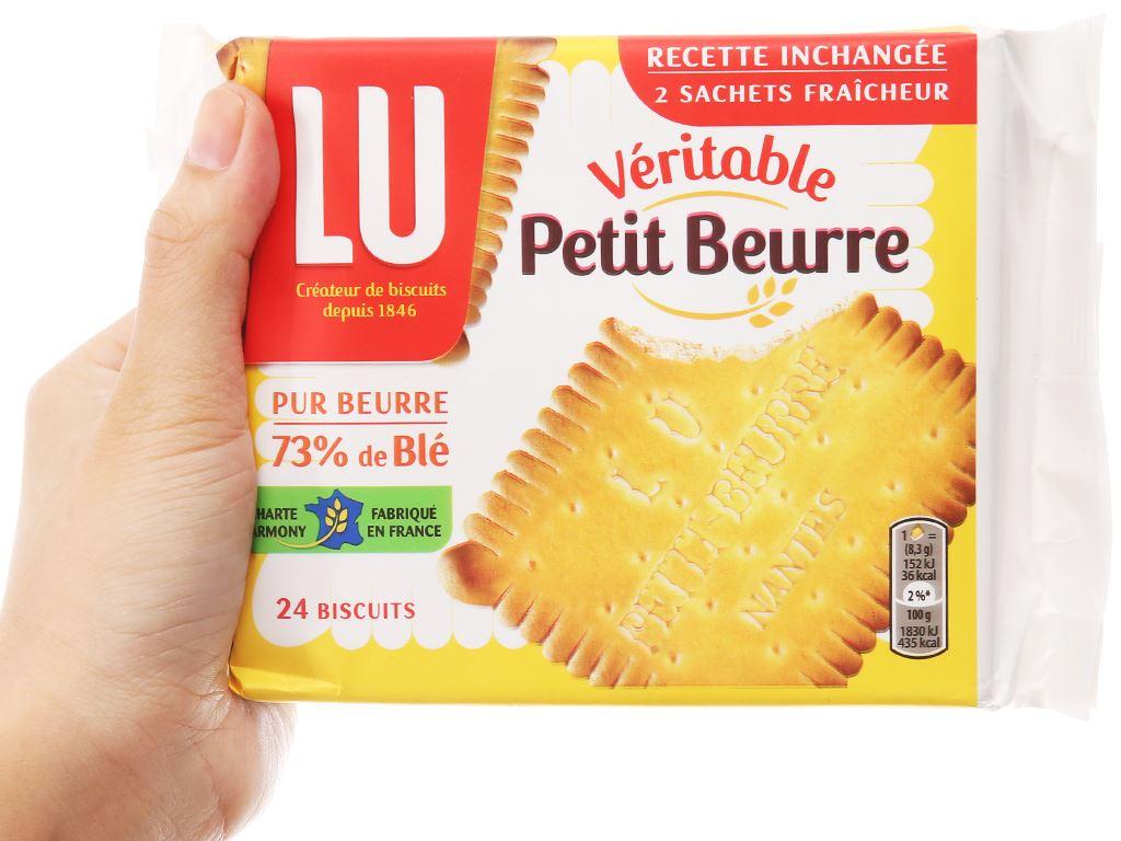 Bánh LU Véritable Petit Beurre gói 200g 4