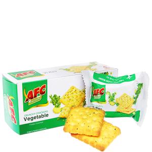 Bánh cracker vị rau AFC Dinh dưỡng hộp 100g