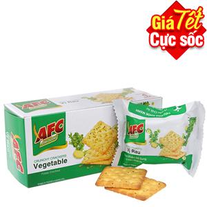 Bánh quy AFC Dinh dưỡng rau 100g