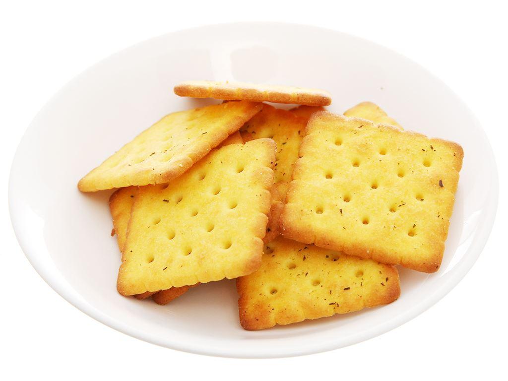 Bánh cracker vị rau AFC Dinh Dưỡng hộp 200g 5