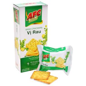 Bánh cracker vị rau AFC hộp 200g