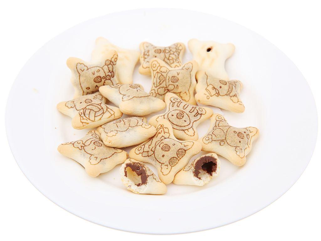 Bánh gấu nhân kem socola Lotte Koala's March hộp 37g 4