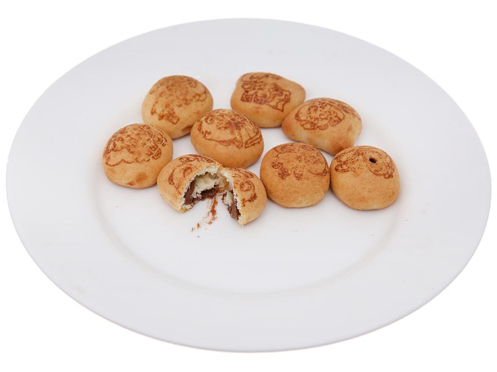 Bánh gấu Nhân kem socola Meiji Hello Panda hộp 50g 4