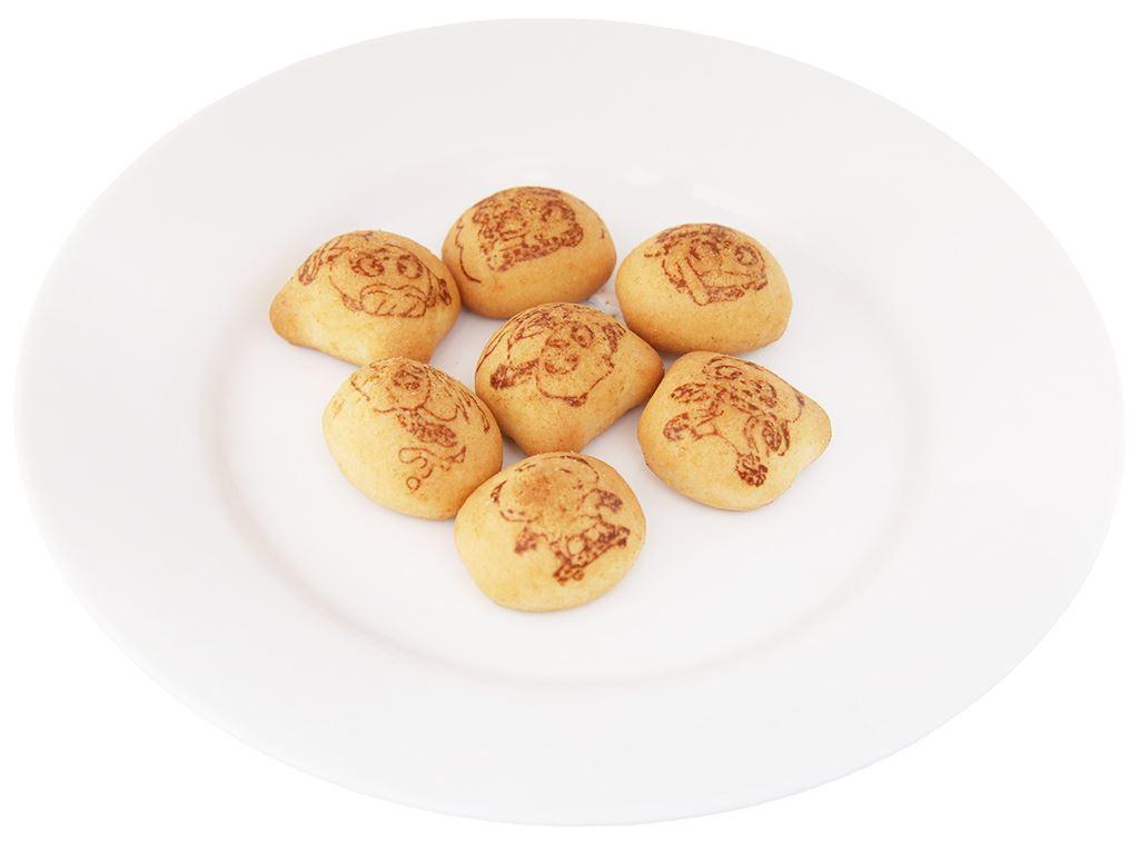 Bánh gấu nhân kem sữa Meiji Hello Panda hộp 50g 4