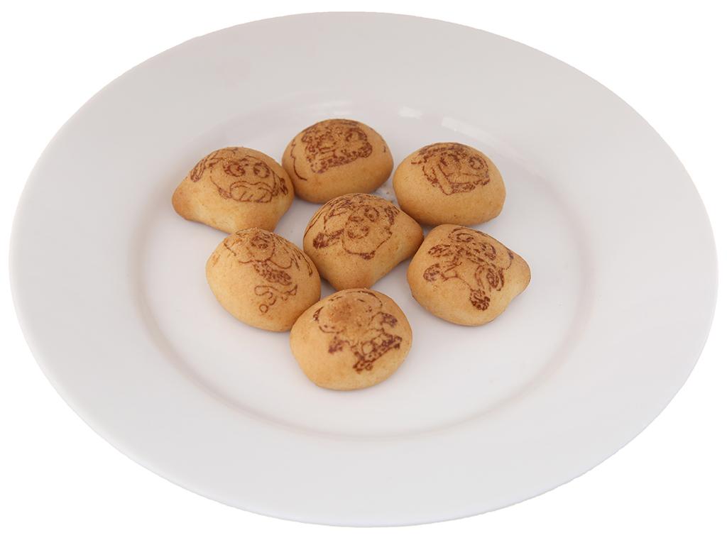 Bánh gấu hộp Nhân kem sữa Meiji Hello Panda 50g 4