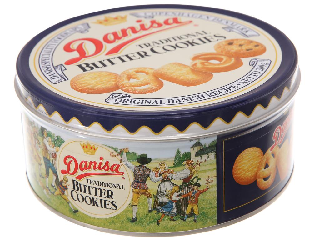 Bánh quy bơ Danisa hộp 200g 2