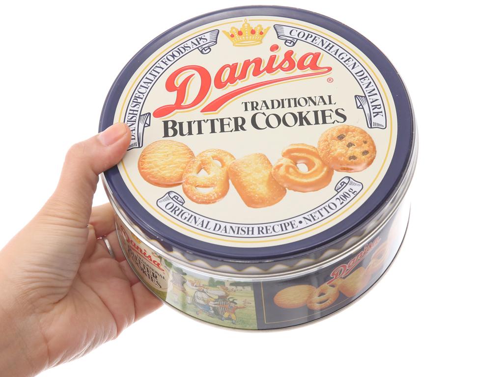 Bánh quy bơ Danisa hộp 200g 5