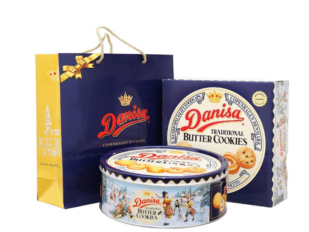 Bánh quy bơ Danisa hộp 454g 1