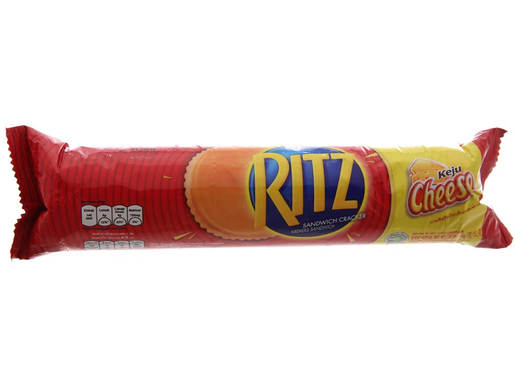 Bánh quy ngọt Ritz kem phô mai 118g 2