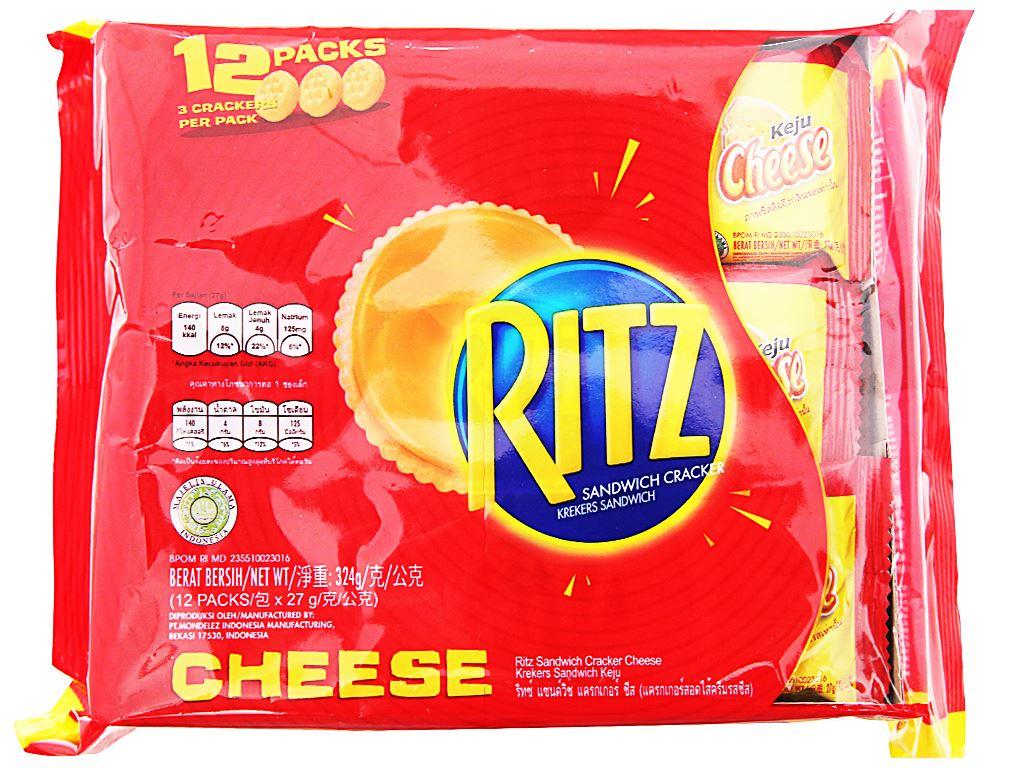 Bánh cracker phô mai Ritz gói 324g 1