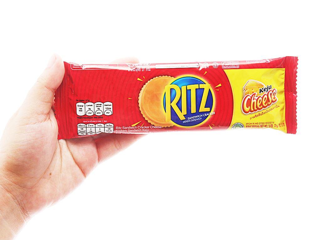 Bánh cracker phô mai Ritz gói 324g 3