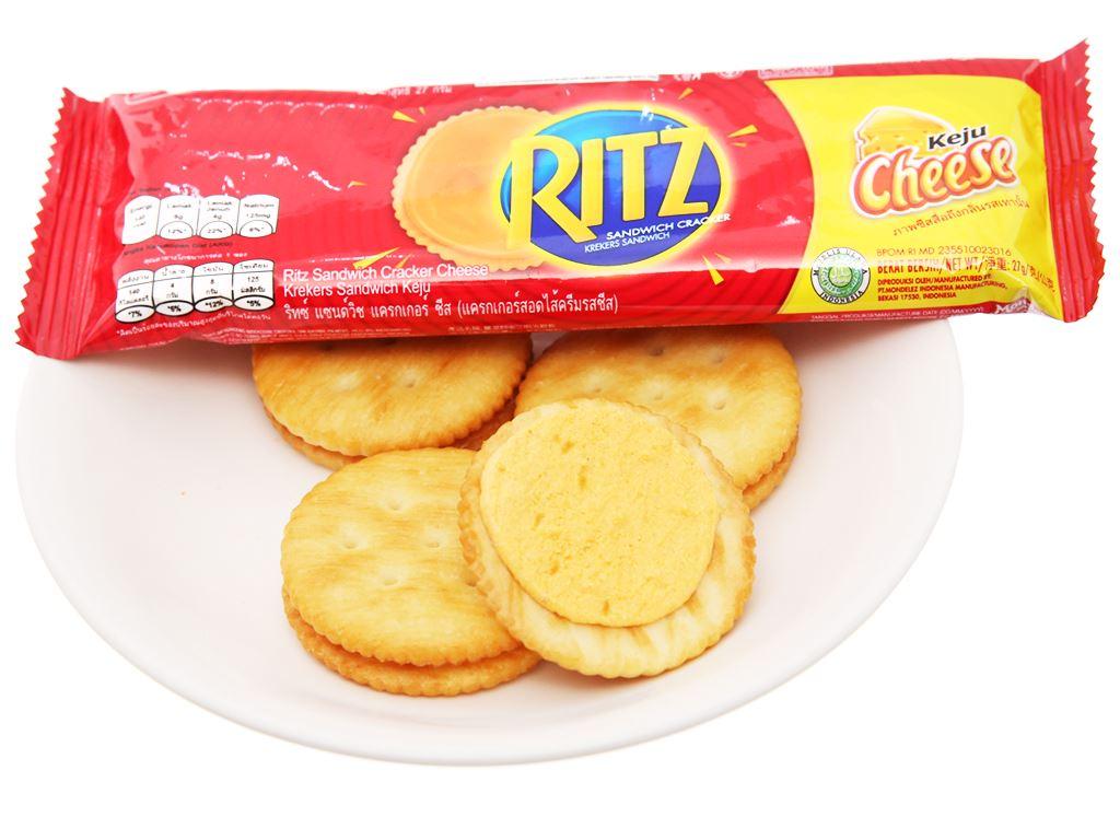 Bánh cracker phô mai Ritz gói 324g 4