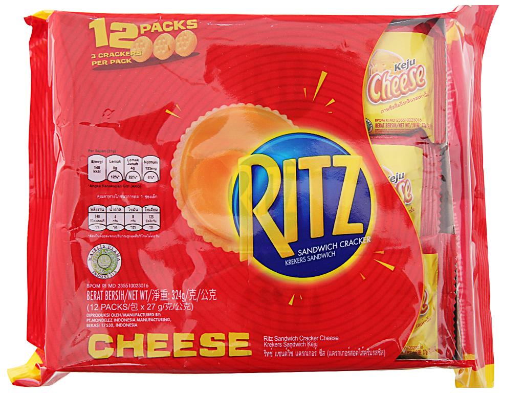Bánh quy Phô mai Ritz gói 324g 1
