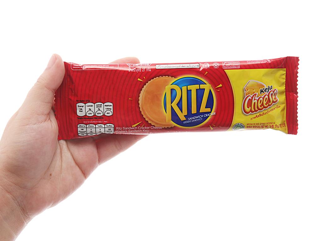 Bánh quy Phô mai Ritz gói 324g 3