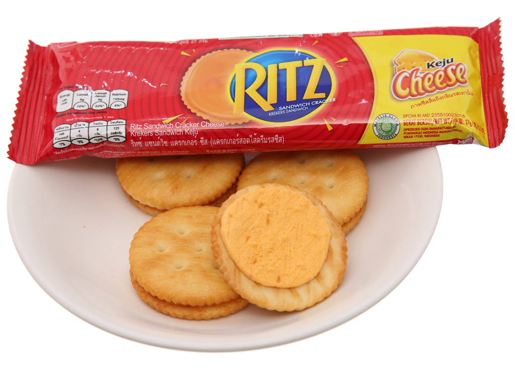 Bánh quy Phô mai Ritz gói 324g 4