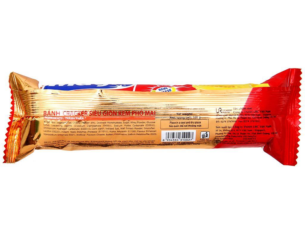 Bánh cracker kem phô mai Magic gói 108g 2