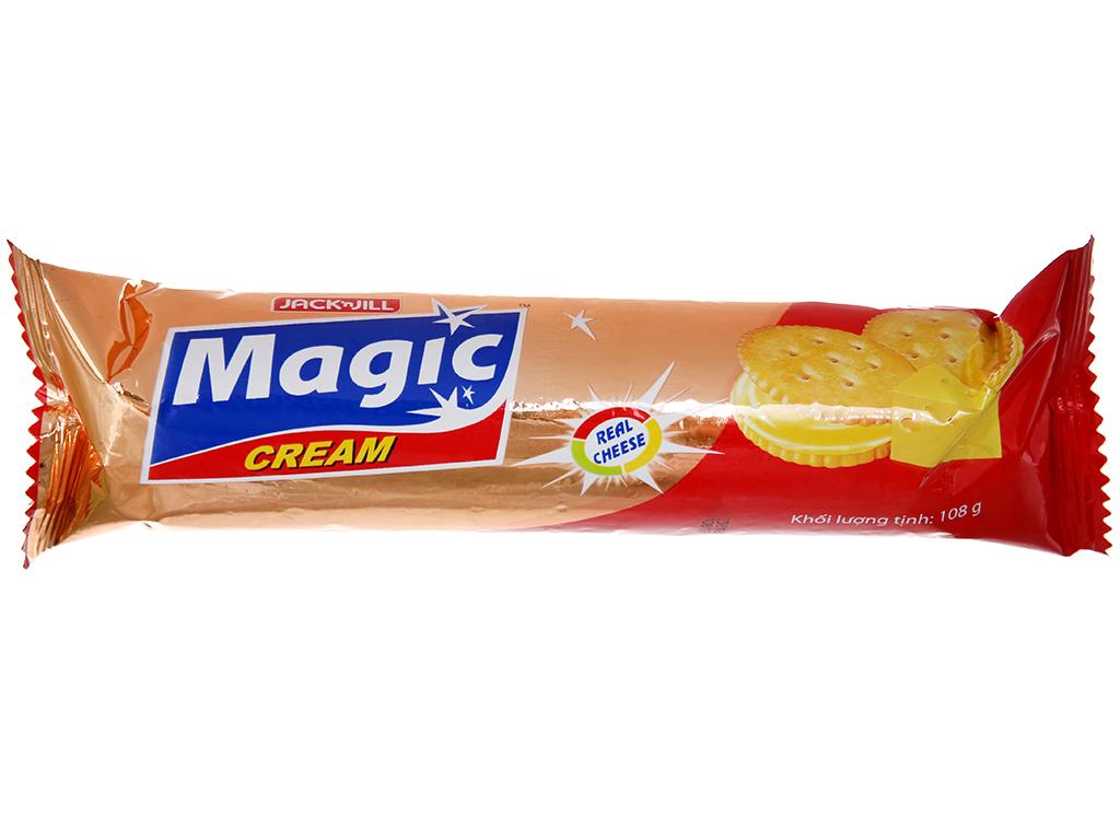 Bánh quy ngọt Magic cracker kem phô mai 108g 2