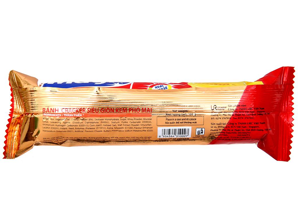Bánh quy ngọt Magic cracker kem phô mai 108g 3