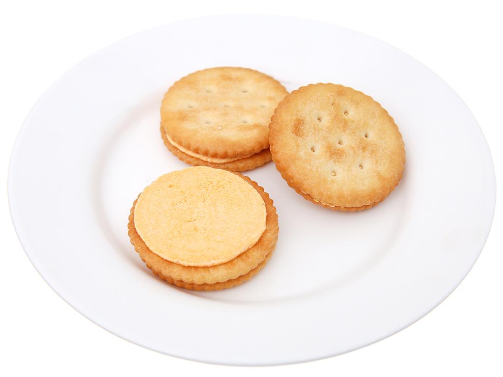 Bánh quy ngọt Magic cracker kem phô mai 108g 4