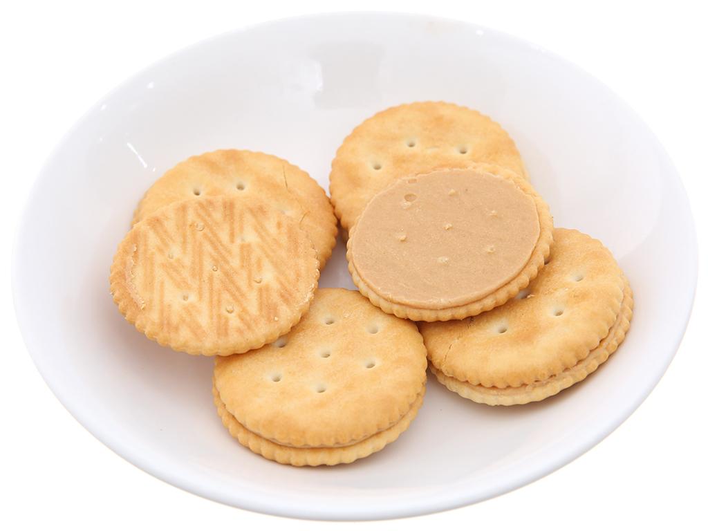 Bánh quy siêu giòn Kem bơ đậu phộng Magic gói 108g 3